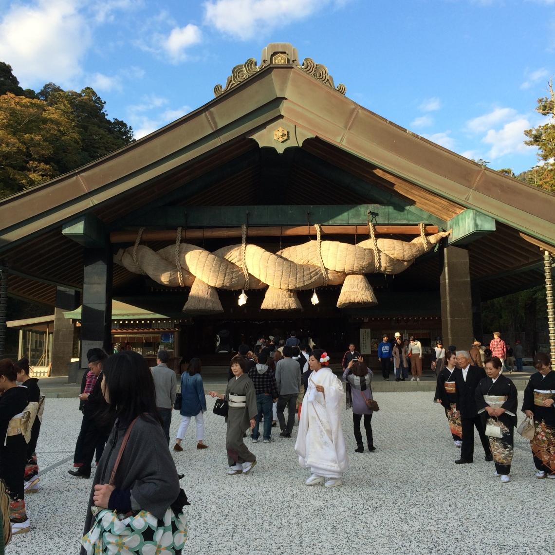 Here Comes the Bride_Izumo Shrine